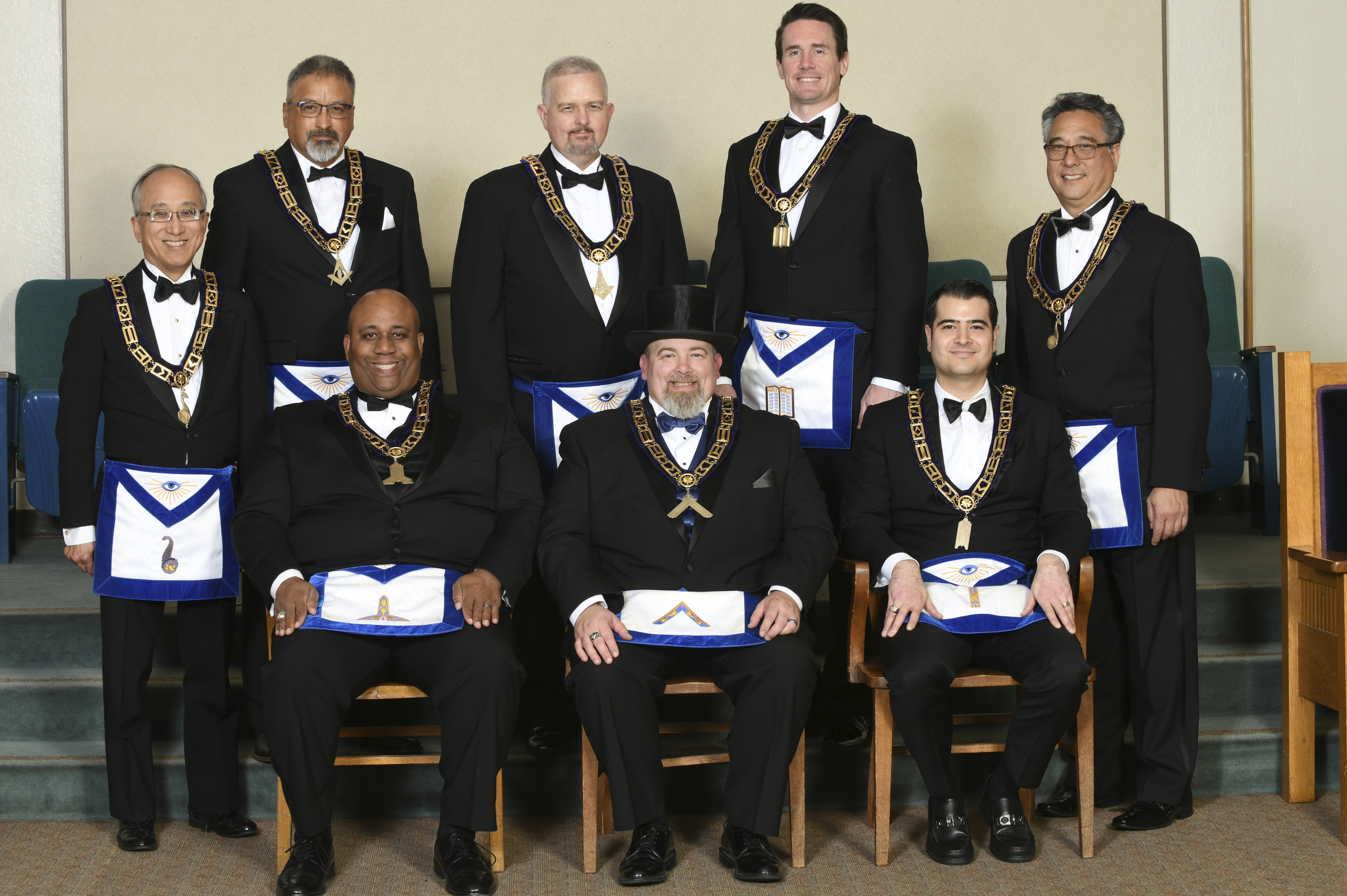 2018 Master and Lodge Officers