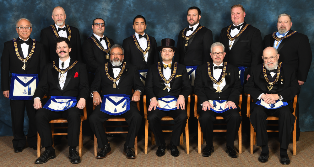 2020 Master and Lodge Officers